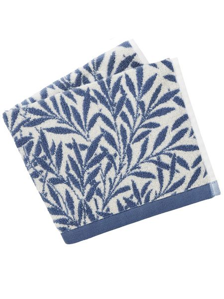 Morris & Co Morris & co willow guest towels china blue
