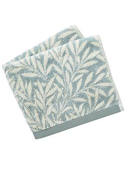 Morris & co willow hand towel sage