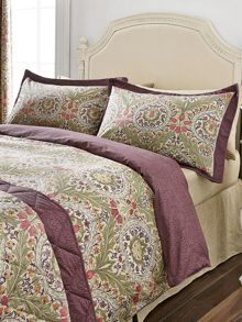 Brocatelle housewife pillowcase pair