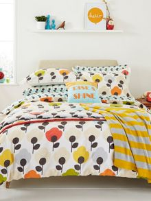 Rise & shine housewife pillowcase pair multi