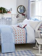 Julie Dodsworth Sunday Best bed linen range in Blue