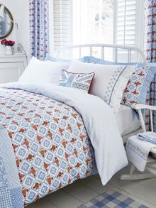 Sunday Best bed linen range in Blue