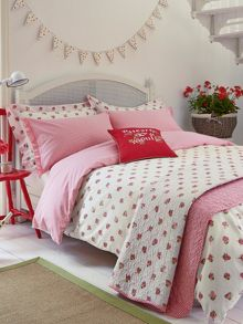 Heart & soul pillowcase housewife red