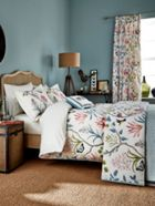 Sanderson Clementine bed linen range in Duck Egg