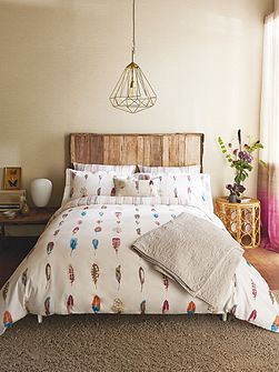 Limosa duvet cover double heather