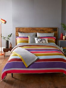 Harlequin Kaledio duvet cover single calypso