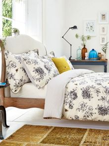 Imogen bed linen range in Cream