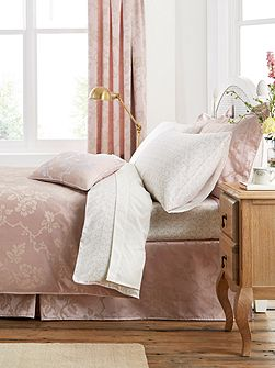 Viennese rose duvet cover king pink