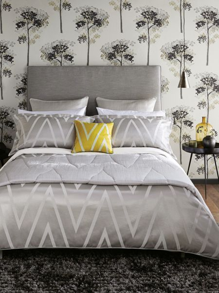 Harlequin Moriko duvet cover single moonstone
