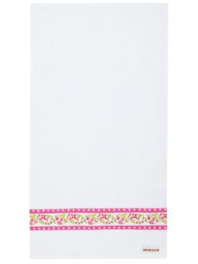 Julie Dodsworth Mary Rose bath towel range in Pink