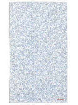 Fledgling hand towel blue