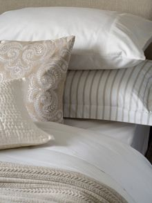 Fable Ellis Stripe bed linen range in Linen