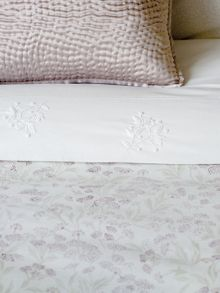 Laurie bed linen range in White