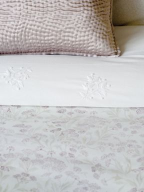 Fable Laurie bed linen range in White