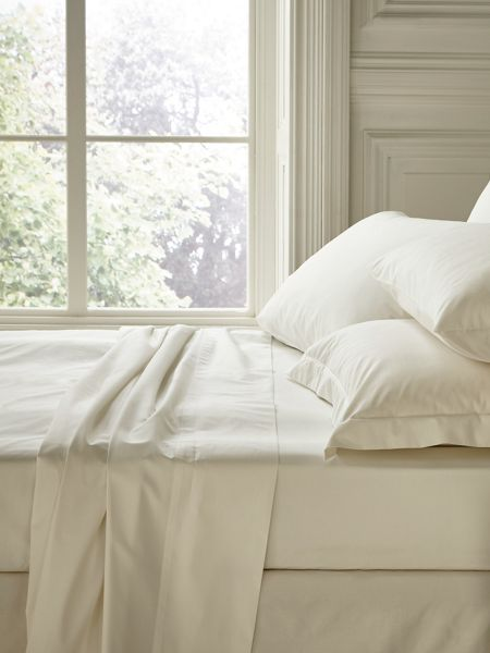 Fable Fable king fitted sheet pearl