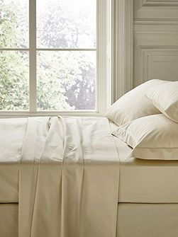 Fable double fitted sheet linen