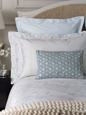 Fable Kassia bed linen range in Duck Egg