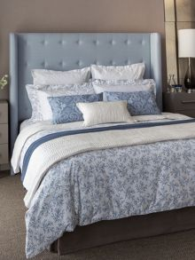 Lantilly bed linen range in Sky Blue