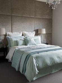 Fable Callista Duck Egg bed linen range