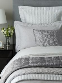 Fable Beaumont bed linen range in Silver