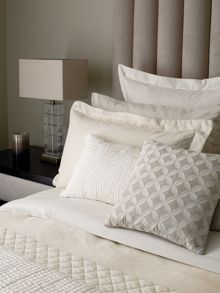 Fable Saverne bed linen range in Soft Gold
