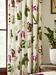 Sanderson Capuchins lined curtains range