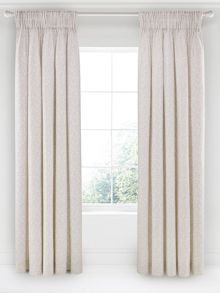 Jasmine lined curtain range
