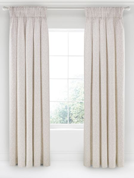Fable Jasmine lined curtains 90x90 (230x230cm)