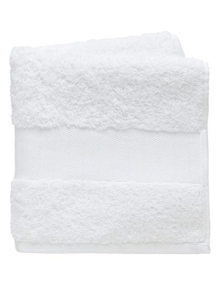Fable Versailles towel sheet white