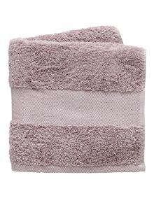 Fable Versailles bath towel range in Amethyst