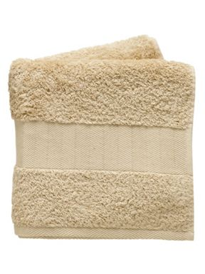 Fable Versailles bath towel range in soft gold