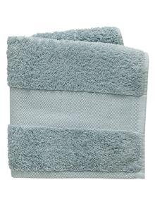 Fable Versailles bath towel range in duck egg