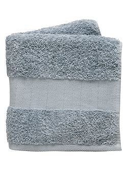 Versailles towel bath blue