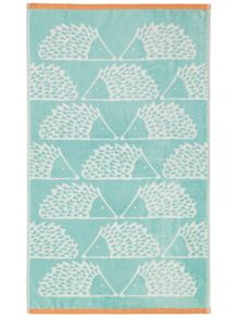 Scion Spike towel range in aqua