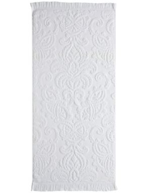 Fable Montford bath towel range in white