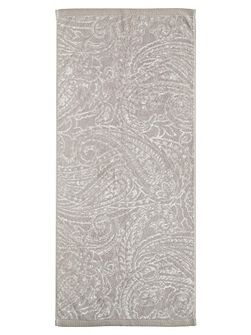 Charente hand towel silver
