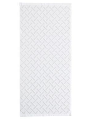 Fable Vienne bath towel range in white