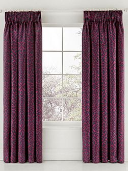 Sanderson mandarin flowers lined curtains 90x90 in indigo for Living room curtains 90x90