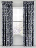 Bedeck 1951 Renata lined curtain range in indigo