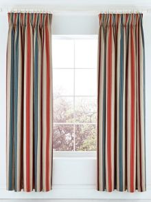 Bedeck 1951 Alba lined curtains in calypso