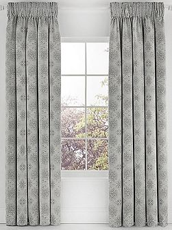 Altana lined curtains 90x90 marble