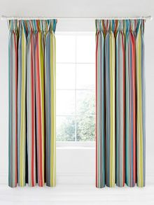 Bedeck 1951 Ila lined curtain range in azure