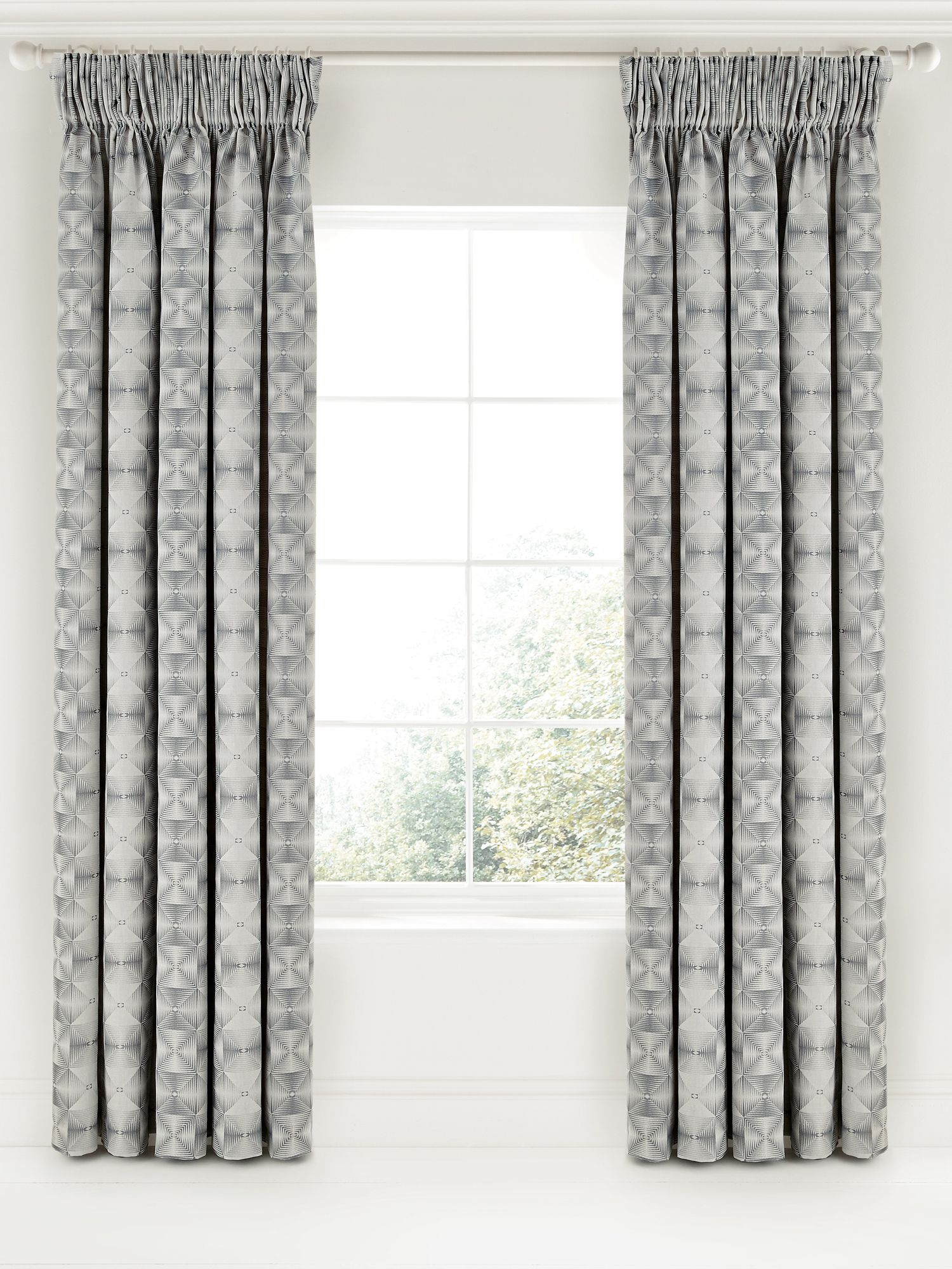 Bedeck 1951 Bedeck 1951 Soto lined curtains 90x90 charcoal