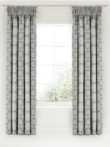 Bedeck 1951 Soto lined curtain range in charcoal