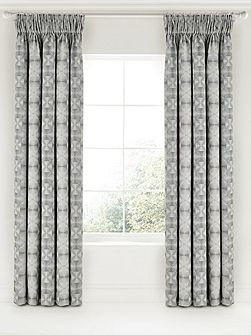 Soto lined curtains 66x72 charcoal