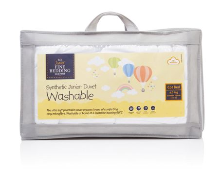 The Junior Fine Bedding Company Washable 4.0 tog childrens duvet 200cm x 135cm