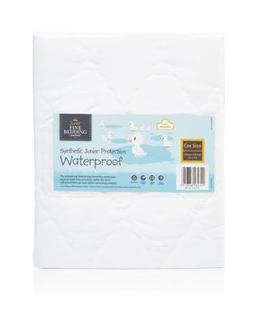 The Junior Fine Bedding Company Childrens waterproof mattress protector