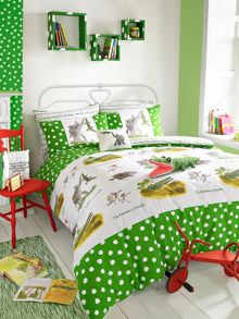 Roald Dahl Enormous crocodile double duvet set