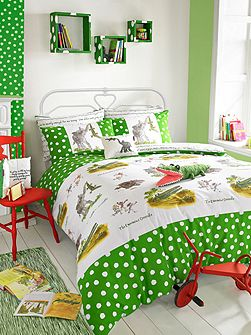 Enormous crocodile double duvet set