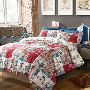 #bedding Cyclist bed linen range